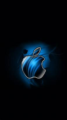 apple iphone 7 wallpaper hd free swirly apple blue 640 x 1136 wallpapers 4600943