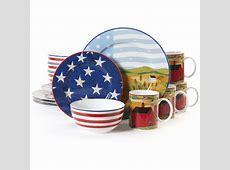 Gibson America The Beautiful 16 pc Dinnerware Set