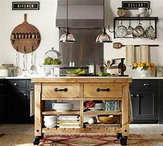 pottery barn kitchen island pottery barn giveaway finding silver pennies
