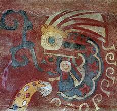 mexico teotihuacan fresco painting by granger