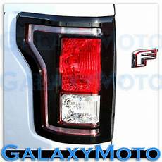 2011 F150 Light Cover 15 17 Ford F150 Truck Gloss Black Plated Taillight
