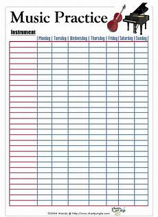 Practice Charts For Music Students Music Practice Chart Http Pinterest Com Search Pins Q