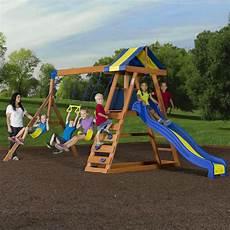 toddler swing set wooden swing set cedar wood outdoor backyard playset play