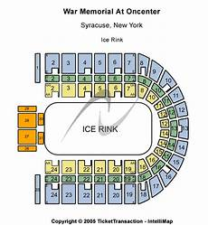 War Memorial Concert Seating Chart War Memorial At Oncenter Tickets Syracuse Ny War