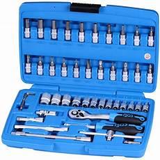 Bgs Werkzeuge Zoll by Bgs Zoll Werkzeug 46 Teile Steckschl 252 Ssel Satz 1 4 Z 246 Llige