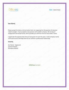2 Weeks Notice Resignation Letter 5 Resignation Letter Templates To Write A Professional