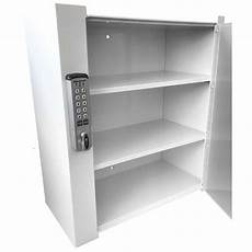 large wall mounted locking cabinet riemer systems llc