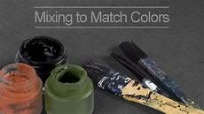 How To Match Paint Colors How To Match Colors In A Painting