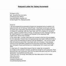 How To Write A Raise Request Letter 8 Salary Increase Templates Excel Pdf Formats