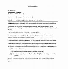 Award Acceptance Letter Example Award Letter Template 10 Samples For Word Amp Pdf