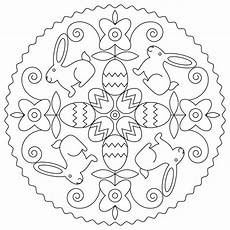 easter mandala coloring pages at getdrawings free