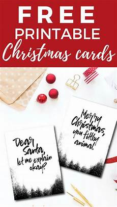 Printable Cards Online Funny And Free Printable Christmas Cards Kaleidoscope Living