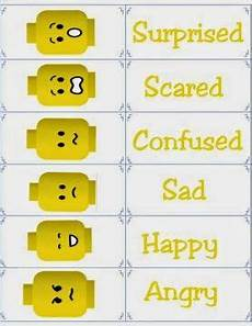 Lego Feelings Chart Smart Apps For Special Needs Free Printable Flashcards