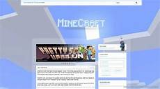 Minecraft Server Website Template Minecraft Website Design Renewed Youtube