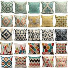 linen pillow pattern for reactive dyeing printing