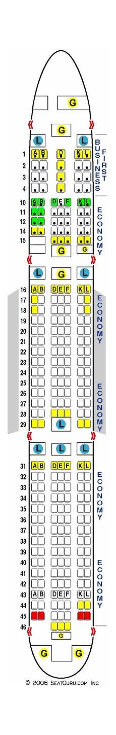 Boeing 767 400 Seating Chart United 767 400 Seating Chart