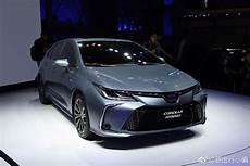 toyota gli 2020 tnga based 2020 toyota corolla sedan breaks cover