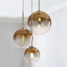 Glass Pendant Lights South Africa Lukloy Loft Modern Pendant Light Silver Gold Glass Ball