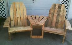Do It Yourself Home Projects Wood Pallet Projects Pallirondack Settee Do It