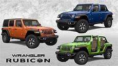 2019 jeep paint colors 2019 jeep wrangler rubicon color options