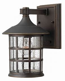 Hinkley S Custom Lighting Hinkley Lighting 1800oz Oil Rubbed Bronze 1 Light Outdoor