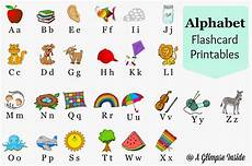 Letter Flashcards Printable Alphabet Flashcards With Pictures Calendar June