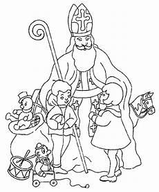 Ausmalbild Bischof Nikolaus Malvorlage Sankt Nikolaus Malvorlagen 5