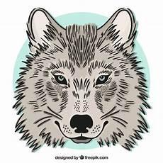 desenho de lobos wolf background vector free