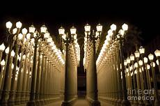 Lacma Lights Hours Lacma Light Exhibit In La Photograph By Micah May