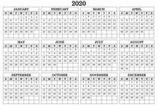 2020 Fillable Calendar Calendar Template Fillable Pdf Calendar Template Printable