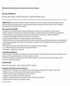 Network Administrator Resume Objective Free 6 Administrative Assistant Resume Objectives In Ms