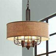 Tremont 20 Wide Rust Pendant Light Franklin Iron Works Tremont 20 Wide Rust Pendant Mike
