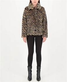 kate spade new york zebra print faux fur coat reviews