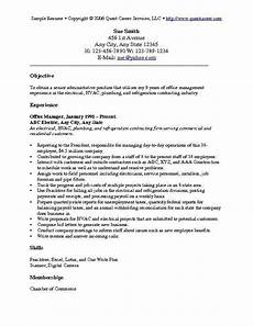 What Are Some Good Objectives To Put On A Resumes Resume Objective Examples 1