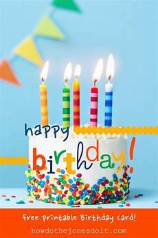 Happy Birthdaycards Happy Birthday Card Free Printable