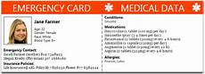 Medical Alert Cards Templates 10 Best Photos Of Diabetic Medical Id Card Free Printable