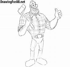 Picture Drawing How To Draw Paul Bunyan Drawingforall Net