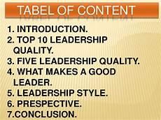 Qualities Of A Good Leader Essay Leadership Qualities