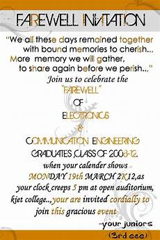 Invitation Card For Farewell Party To Seniors Image Result For Farewell Quotes For Students Compass