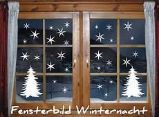 fenstertattoo 40 x sterne tannenbaum winternacht