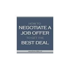 How To Negotiate A Job Offer How And Why To Take A Sabbatical From Work Job Search