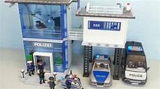 Playmobil Malvorlage Polizei Playmobil Polizeistation 5176 Auspacken Seratus1 Alarm