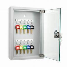 10 position key cabinet with glass door by barska barska