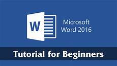 Mirco Soft Word Introduction To Microsoft Word 2016 Getting Started