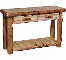 Sofa Table With Drawers Png Image by Sofa Tables Rustic Log Furniture Of Utah