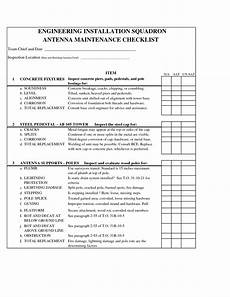 Car Maintenance Checklist Form Printable Car Maintenance Checklist Form Car Maintenance