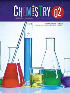 Chemistry Cover Page Designs Chemistry 02 Introduction To Chemistry Laboratory Manual