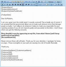 Credit Repair Letters Credit Repair Letter Library Free Credit Repair Letters
