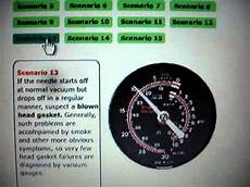Vacuum Readings Chart How A Vacuum Gauge Works Reading Diagnostics Virago Valve
