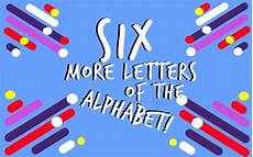 The Alphabet In Bubble Letters There Used To Be Six More Letters In Our Alphabet